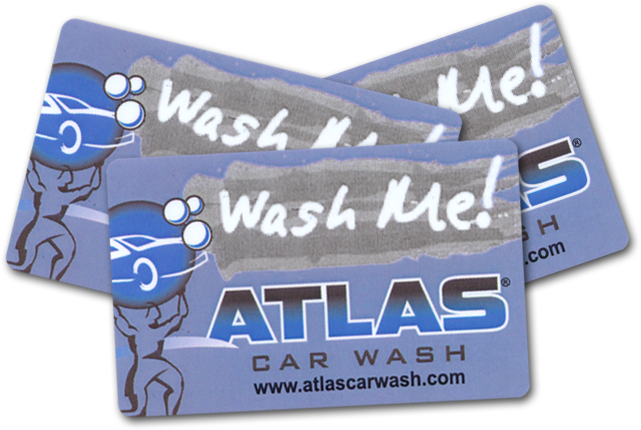 Atlas Gift Cards. Atlas Car Wash Gift Cards
